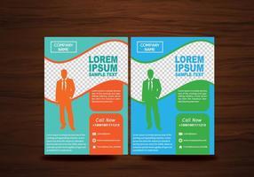 Folheto de vetor folheto design vetor de layout