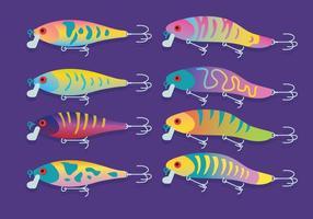 Vector de atração de pesca