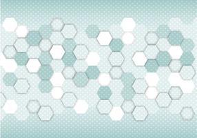 Vector hexágono abstrato gratuito