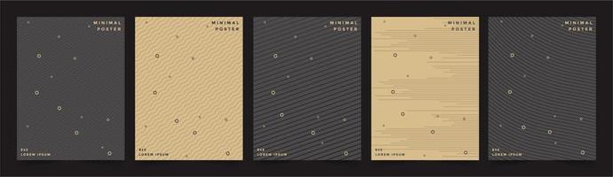 menu de capa premium design fundo geométrico vetor
