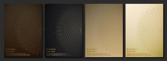 designs de capa premium vetor