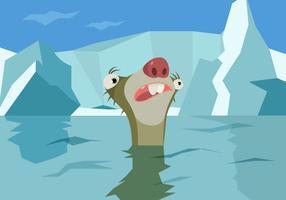 Vetor idade do gelo