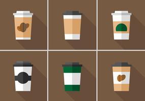Manga de café vetorial vetor
