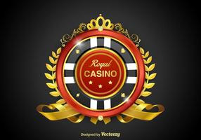 Emblema do vetor Casino Royale grátis