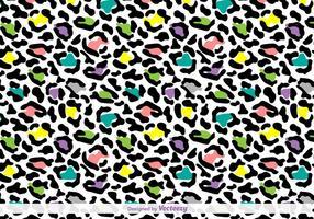 Fundo da pele do leopardo do vetor