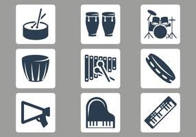 Vector de instrumentos musicais grátis