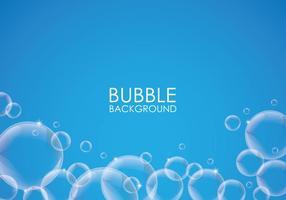 Fundo da bolha de sabão vetor