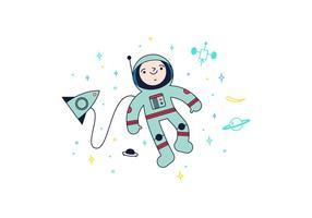 Vetor espacial gratuito
