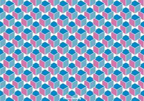 Abstrato Cube Background Vector