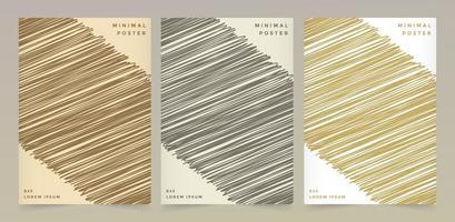 texturas de padrão de cor retrô vetor