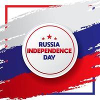 bandeira do dia da independência russa