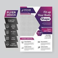 capa de panfleto comercial