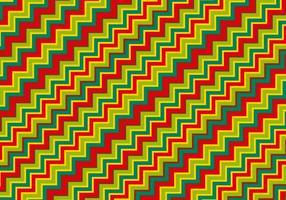 Fundo colorido do padrão Zig Zag vetor