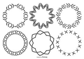 Formas circulares decorativas