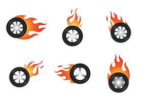 Ilustração vetorial de burnout livre