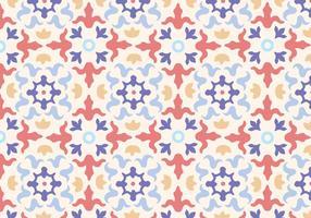 Padrão de mosaico de azulejos vetor