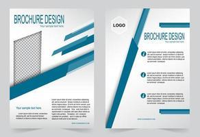 capa para brochura vetor