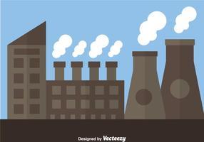 Fábrica de Reatores Nucleares vetor