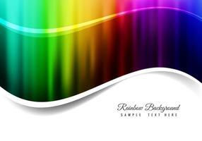Fundo livre do arco-íris do vetor
