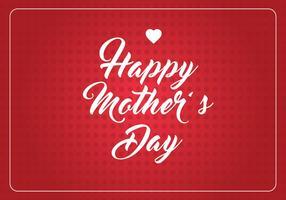 Fundo do Dia das Mães vetor