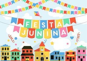 Vetor festa junina