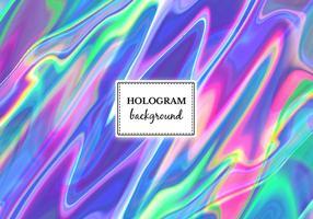 Vetor de holograma de mármore brilhante de vetor livre