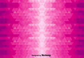 Fundo abstrato do vetor com triângulos cor-de-rosa