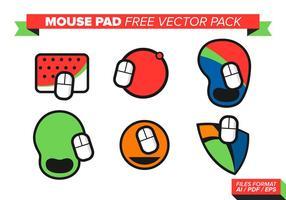Tapete de mouse Pacote de vetores grátis