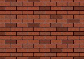 Vetor de parede de tijolo marrom livre