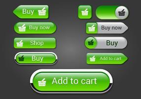 Botões de web grátis set 04 vector