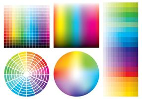 Amostras de cores