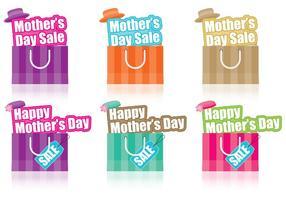 Venda do dia das mães vetor