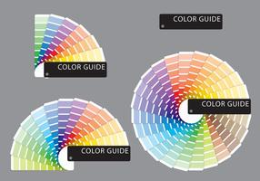 Guias de cores de amostras