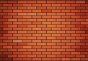 Vetor de parede de tijolo vermelho livre
