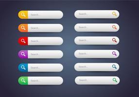 Botões de web grátis set 10 vector