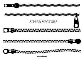 Conjunto de zíper de vetores