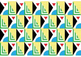Bauhaus retro transparente vetor
