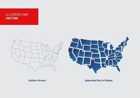 Esboços do estado vetorial vetor