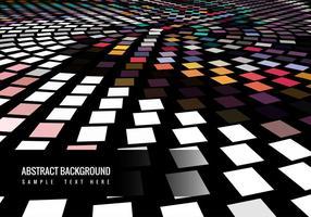 Fundo colorido colorido do mosaico vetor
