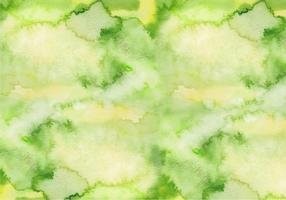 Textura de vetor livre de aquarela verde