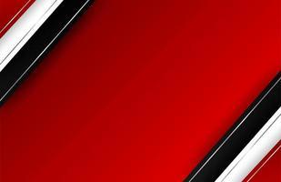 sobreposição de bordas diagonais em gradiente vermelho