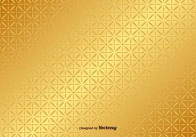 Padrão do vetor de fundo dourado