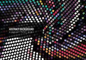 Fundo colorido colorido colorido do mosaico vetor