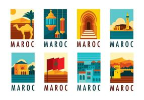 Vetor maroc grátis