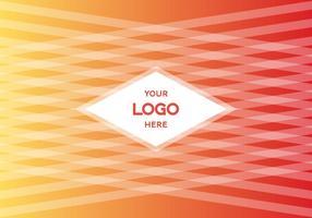 Livre gradiente logotipo fundo do vetor