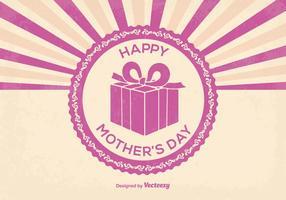 Ilustração feliz do dia das mães vetor