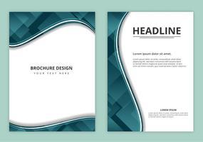 Brochura de negócios de vetores grátis