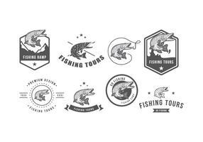 Emblema Pike Vintage grátis vetor