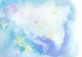 Textura de aquarela de vetor livre azul claro