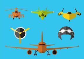 Vetor de ilustração do avião